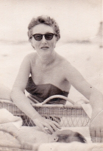 My mother, circa 1958, in Singapore by Norman Galey