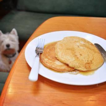 Pancakes for brekkies