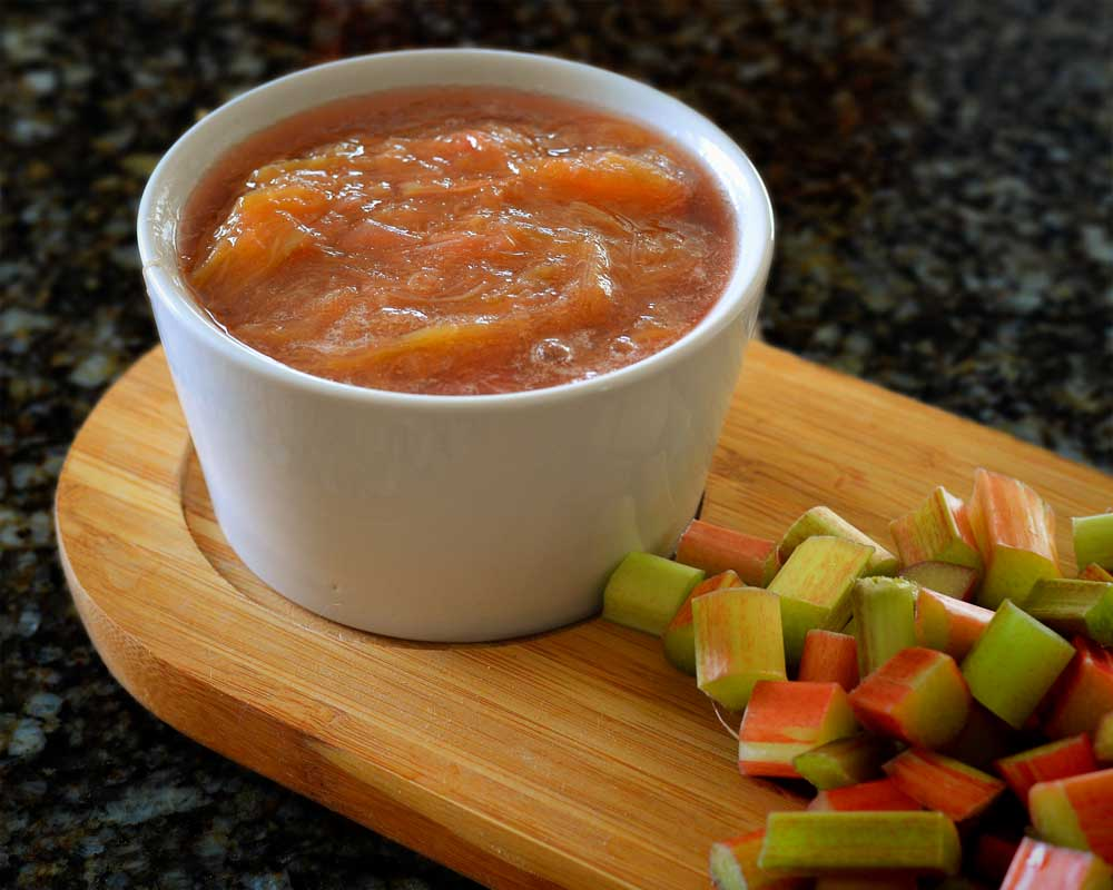 rhubard-sauce