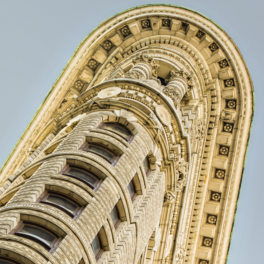 Top of the Flatiron, details1000
