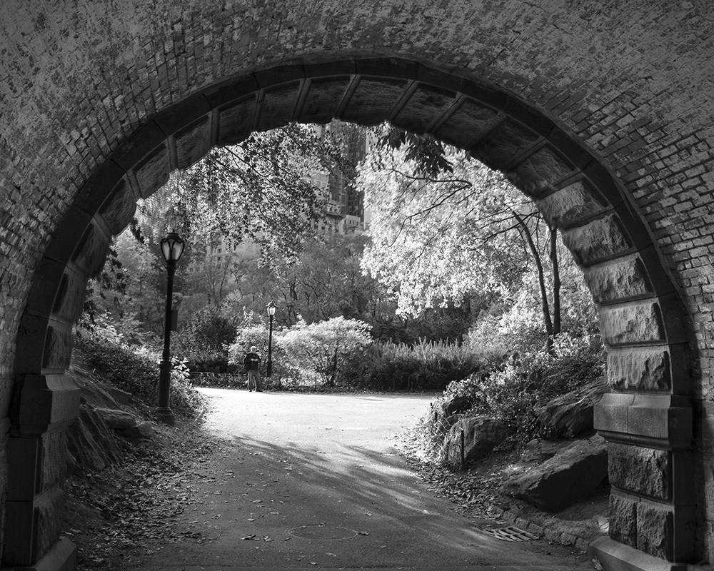 Central park tunnel i am a huge fan of black and white photography