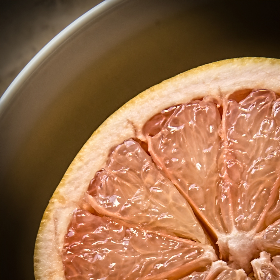Juicy grapefruit