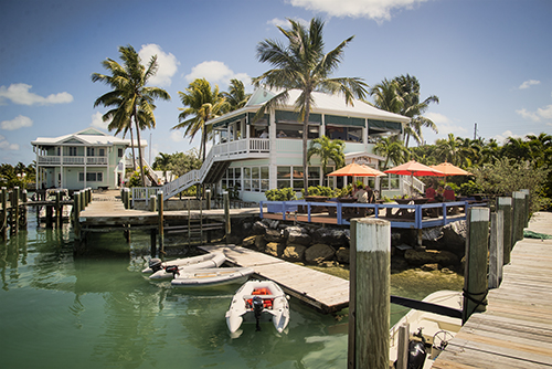 Marsh Harbour on the Island of Abaco, where we are right now...