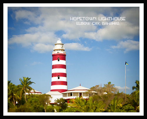 hopetown lighthouse view 2black