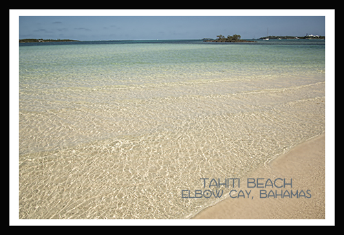 tahiti beach postcard2-black