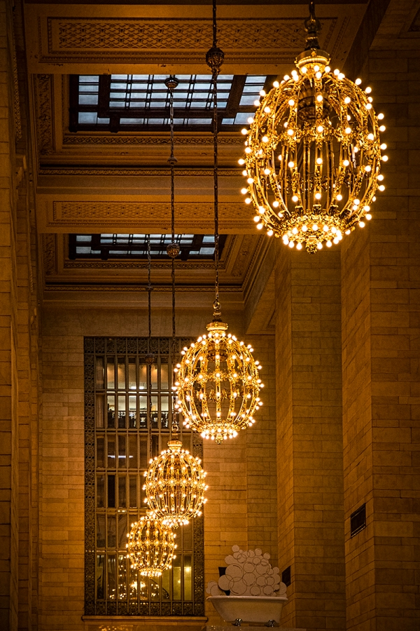 lamps in grand central