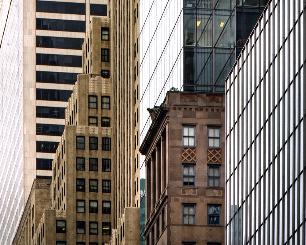 new york contrasts