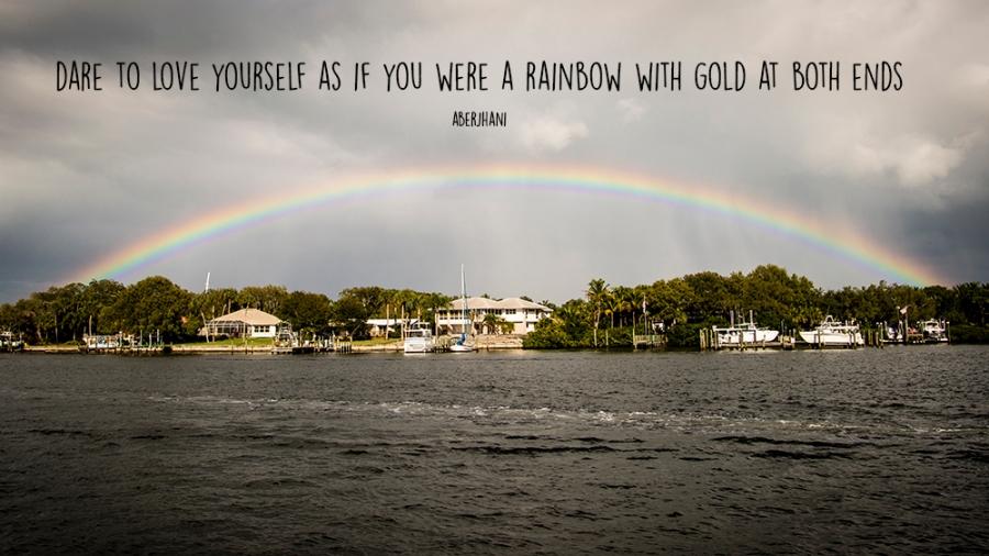 rainbow - love